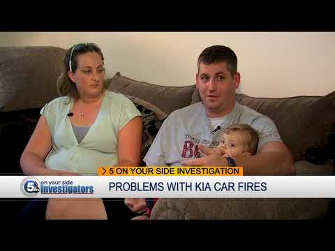 Hiram woman 'scared to death' as her Kia car caught fire, more questions about Kia safety issues