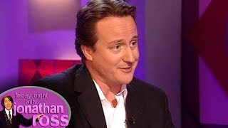 David Cameron's Against The Legalisation Of All Drugs    Friday Night With Jonathan Ross