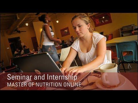 Seminar and Internship - NC State University Master of Nutrition Online