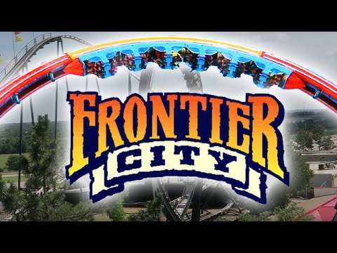 AWESOME ROLLER COASTERS AT FRONTIER CITY IN OKLAHOMA CITY | Day 2217