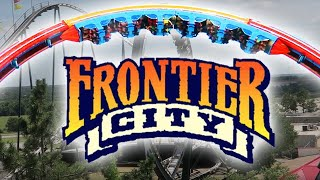 AWESOME ROLLER COASTERS AT FRONTIER CITY IN OKLAHOMA CITY! | Day 2217 - TheFunnyrats Family Vlogs