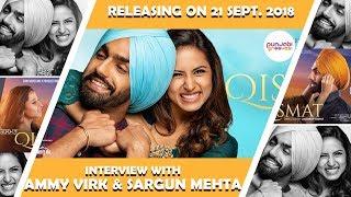 Ammy Virk and Sargun Mehta for Thier Upcoming movie Punjabi Qismat
