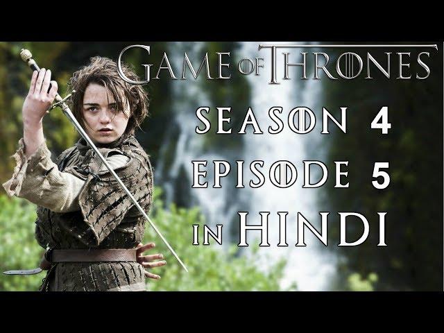 Games Of Thrones Season 4 In Hindi
