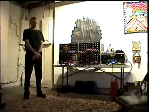 Richard Brewster MegaHz 101108 modular analog synthesizer