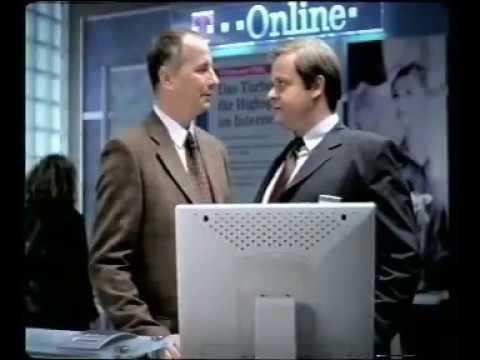 """Deutsche Telekom Weihnachtskampagne 2001 TV-Spot """"Chef"""""""