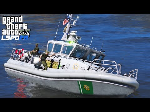 GTA 5 LSPDFR Coastal Callouts |Los Santos County Sheriff Marine Unit Enforcing Laws On The Alamo Sea