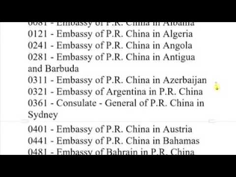 "How To Apply For Scholarship In China ""Agency Number"""
