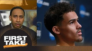 Stephen A.: Trae Young's stock will drop if he doesn't leave school for NBA now | First Take | ESPN