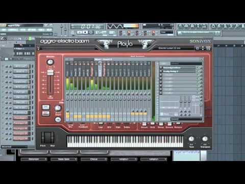 Making Music | Sonivox PLAYA Aggro Electro Boom