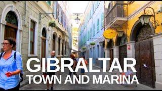 [4K] Gibraltar (2019) Walking Tour Through the City Centre