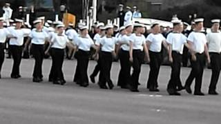 Acadia Cadet Graduation Ceremony 2011 Cornwallis NS. (March Past)