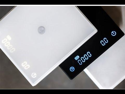 咖啡閃物-Timemore 泰摩黑鏡BASIC手沖咖啡秤重計時電子秤