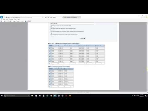 Admin   Company - FICA Tax & Federal Unemployment Info