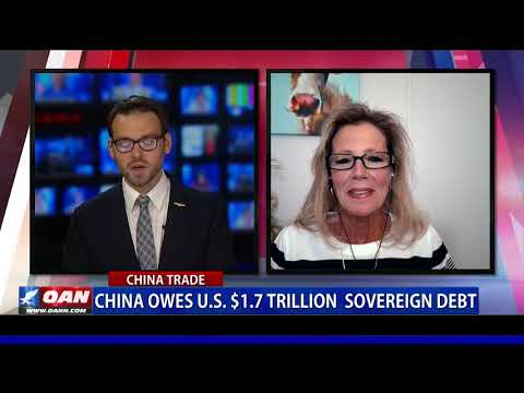 China owes U.S. $1.7T sovereign debt