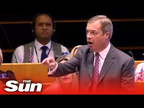 Farage: 'You patronising stuck up snob!'