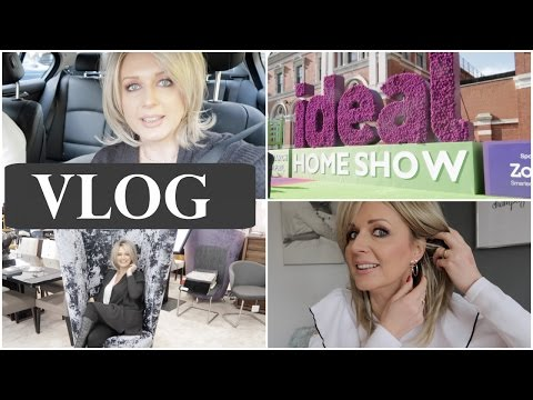 *Monday Vlog* - Ideal Home Show, Hormone Clinic Visit