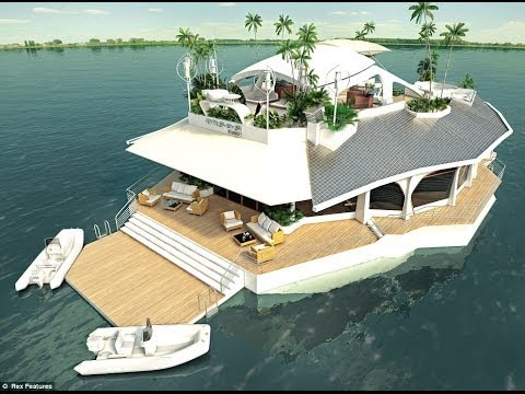 Floating Islands - Floating House - Luxury Real Estate - Yachting