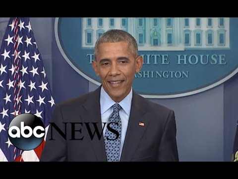 Thumbnail: President Obama Final Press Conference of His Presidency: Full Presser | ABC News
