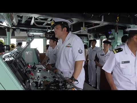 掃海艇つのしま 体験航海 宇野港 海上自衛隊 JMSDF  Japan Maritime Self-Defense Force japan