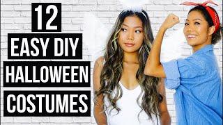 12 Easy Last Minute DIY Halloween Costumes 2017 || Farina Aguinaldo