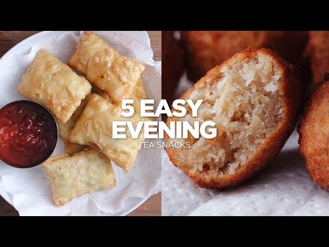 5 Easy Evening Tea  Snacks