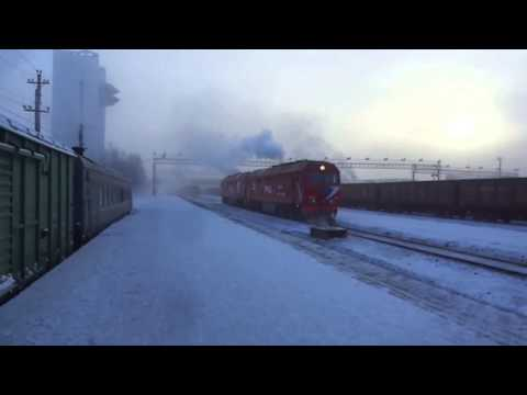 Tynda, Amur Oblast, Russian Far East (Historical Siberia) - BAM Line in Winter