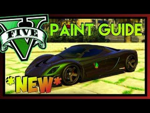 GTA 5 - Top 5 Best Paint Job For Turismo R (GTA V) - YouTube