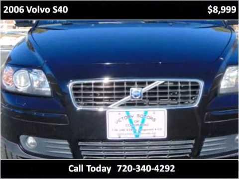 2006 volvo s40 used cars longmont co youtube for Victory motors trucks longmont