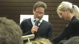 "David Duchovny Reading ""Holy Cow"""