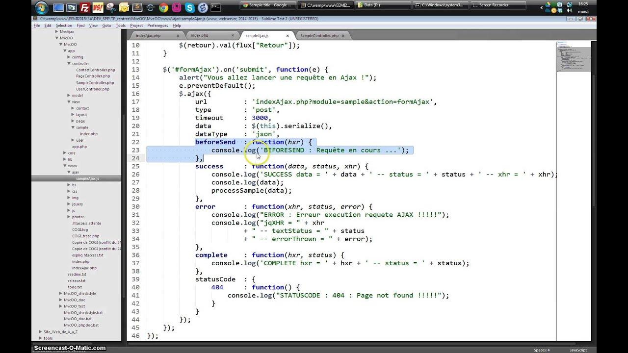 Architecture mvc php for Architecture mvc