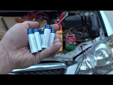 Can You Jump Start A Car With AA 1.5V Alkaline Batteries?