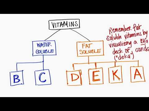 Fat & Water Soluble Vitamins!