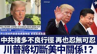 對中共十分不滿 川普或「切斷美中關係」|新唐人亞太電視|20200516