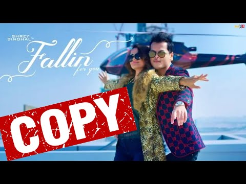 COPIED SONG !! | Shrey Singhal Fallin For You | Fallin For You Copy