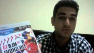 Unboxing MLB 13: The Show PS3