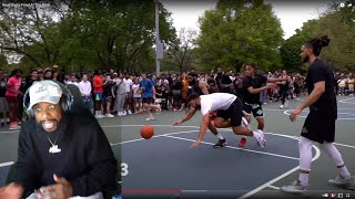REAL SHOTS FIRED AT THIS HOOD BASKETBALL COURT!