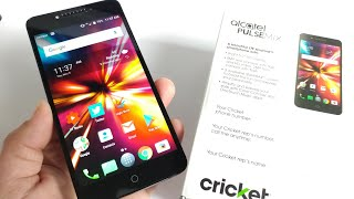 Alcatel Pulse Mix Cricket Wireless Unboxing and Hands-on