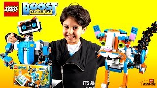 LEGO BOOST 1710: LEGOLAND İSTANBUL'DA LEGO BOOST ROBOT BÜTÜN MODELLERİ İNCELEDİK!
