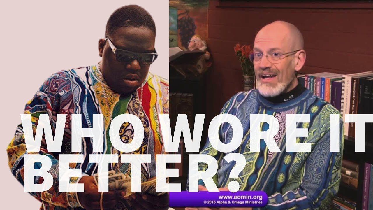 Reformed Theology James White vs Biggie - Who wore the Coogi better?  Calvinism