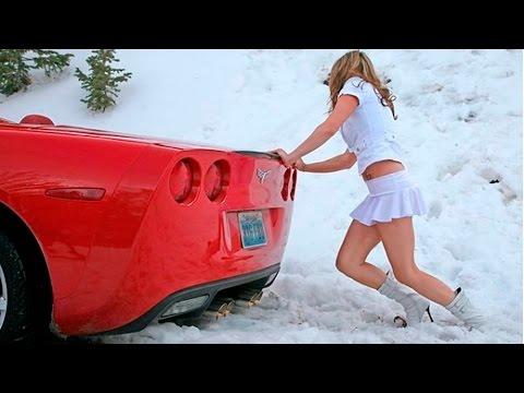 Зима снег машины: машины в снегу видео, снег упал на машину, дрифт на снегу!