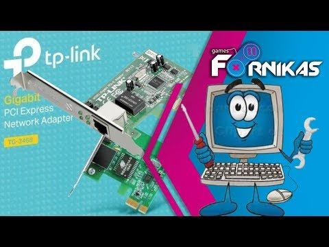 Unboxing TP-LINK Gigabit TG-3468 + Instalação