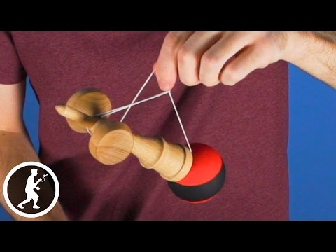 Learn the Funhouse and Root Canal Kendama Tricks