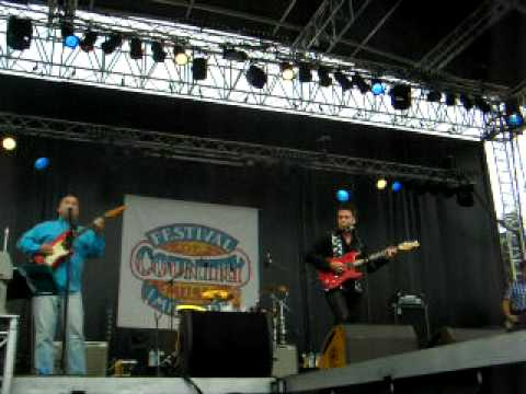 Lovin All Night performed by BILLY CURTIS - Live at Mirande Country Music Festival, France