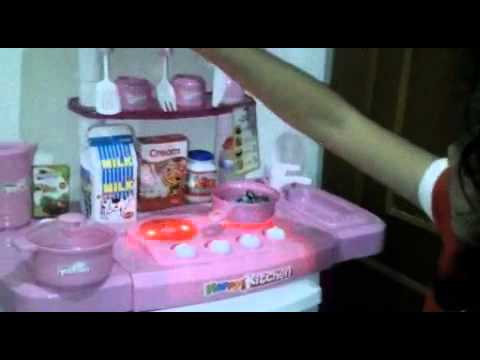 Happy kitchen playset untuk anak anak youtube for Kitchen set anak