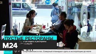Москвичи стали меньше ходить в рестораны из-за вспышки коронавируса - Москва 24