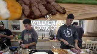 WILD GAME cook off Challenge!