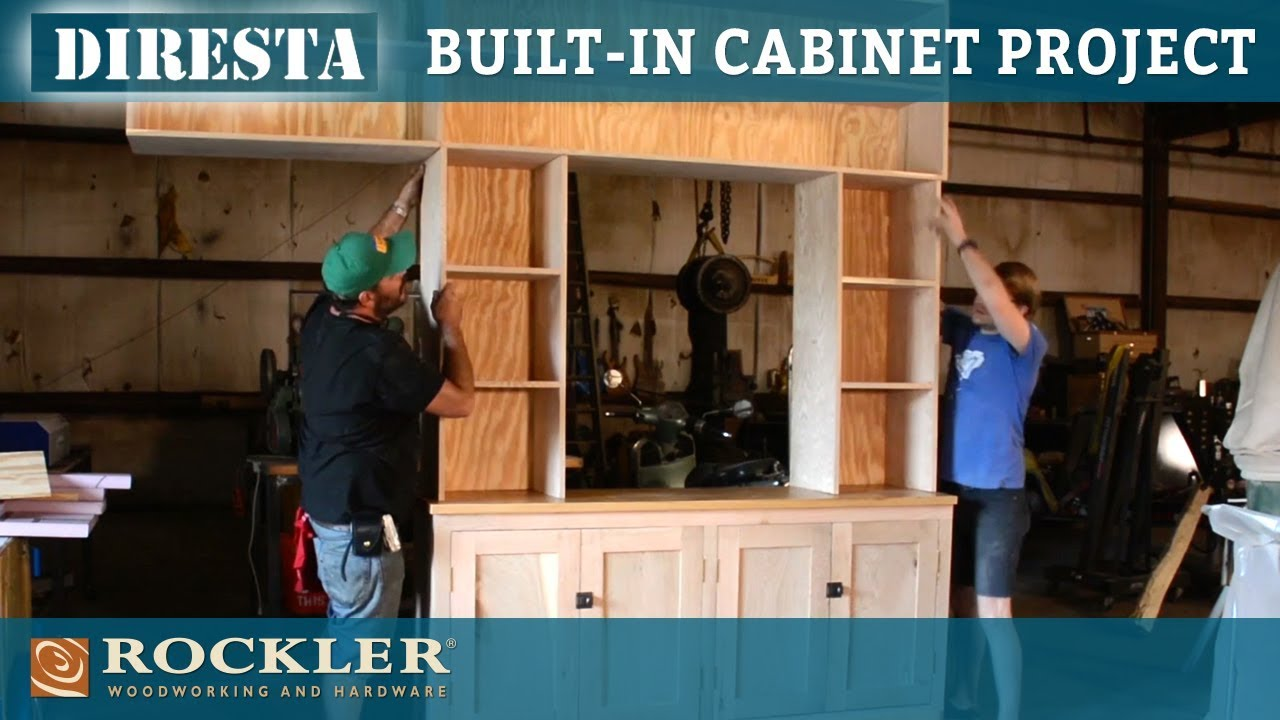 DiResta | Built In Cabinet And Shelves Project
