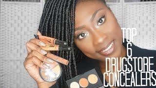 Top 6 Drugstore Concealers for Dark Skin   Staceychellz