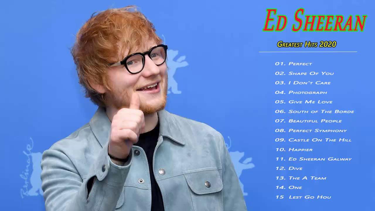 Ed Sheeran Greatest Hits // Ed Sheeran Best Songs // Best Songs Ever 2020