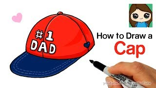 How to Draw a Cap for #1 DAD easy | Father